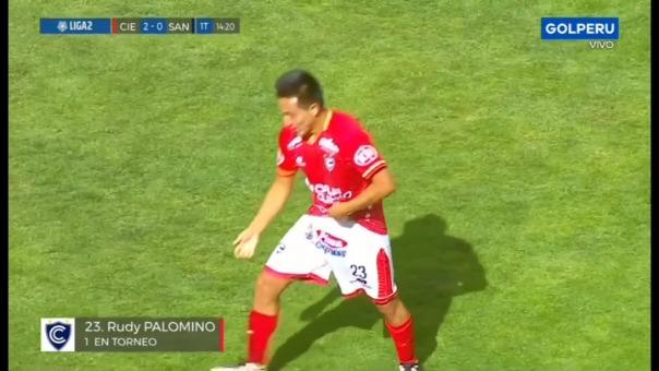 Así fue el gol de Rudy Palomino ante Santos.