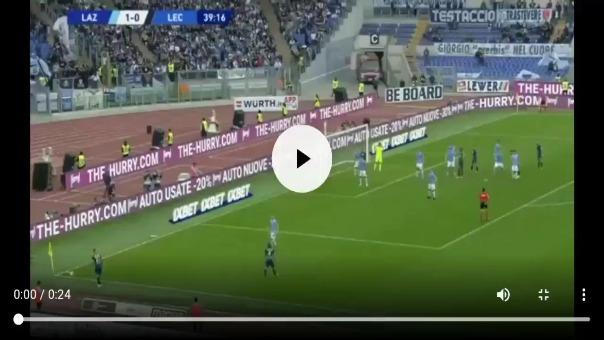 Gianluca Lapadula anotó por tercera vez consecutiva con el Lecce por la Serie A