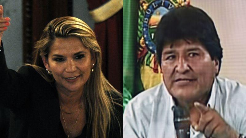 Jeanine Áñez asumió el martes la Presidencia interina de Bolivia.