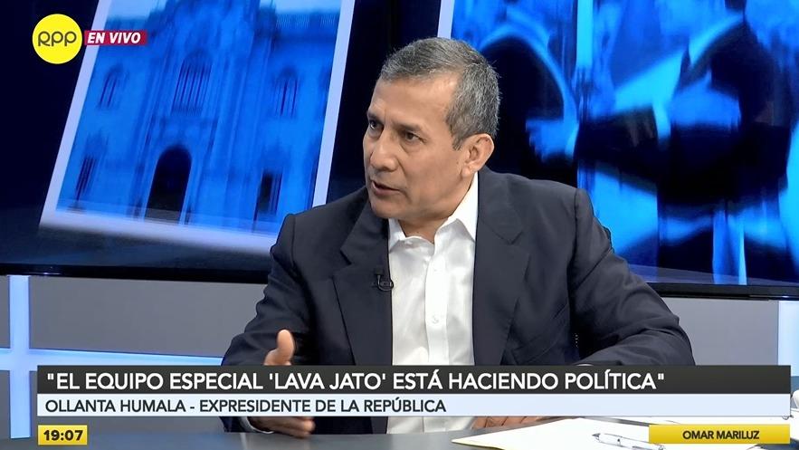 Ollanta Humala gobernó el país entre 2011 y 2016.