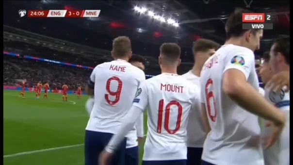Así fueron los tres goles de Harry Kane.