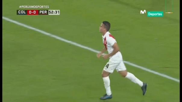 Así fue la jugada que casi termina en gol de Cristian Benavente.