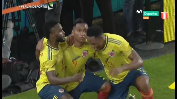 Así fue el gol de Alfredo Morelos.