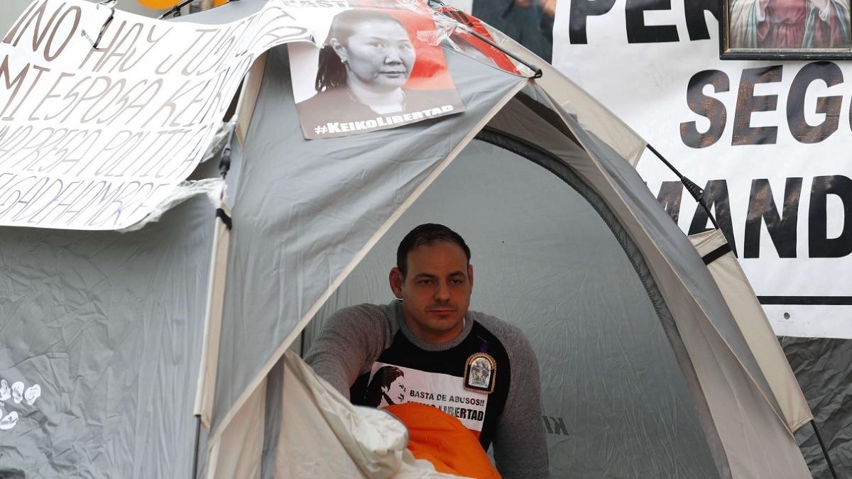 Mark Vito Villanella realiza una huelga de hambre.