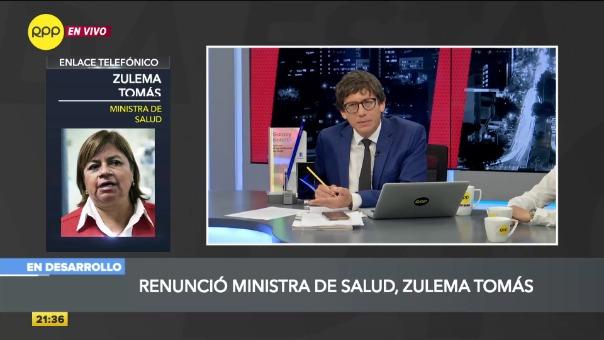 Zulema Tomás renunció al cargo desde enero.