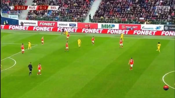 Así fue el primer gol de Eden Hazard.