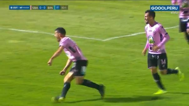 Así fue el gol de Sebastián Penco frente a Binacional.