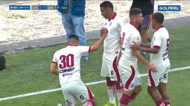 Así fue el gol de Janio Pósito frente a Universitario de Deportes.