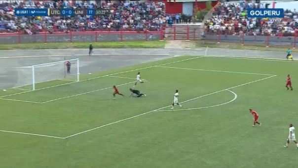 Así fue el gol de Alberto Quintero ante UTC.