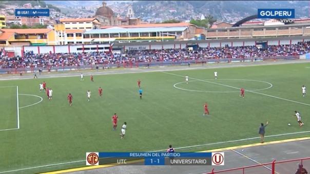 Universitario de Deportes 1-1 UTC por la Liga 1