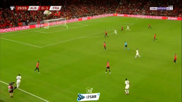 Antoine Griezmann amplió la ventaja para Francia ante Albania por las Eliminatorias de la Eurocopa 2020