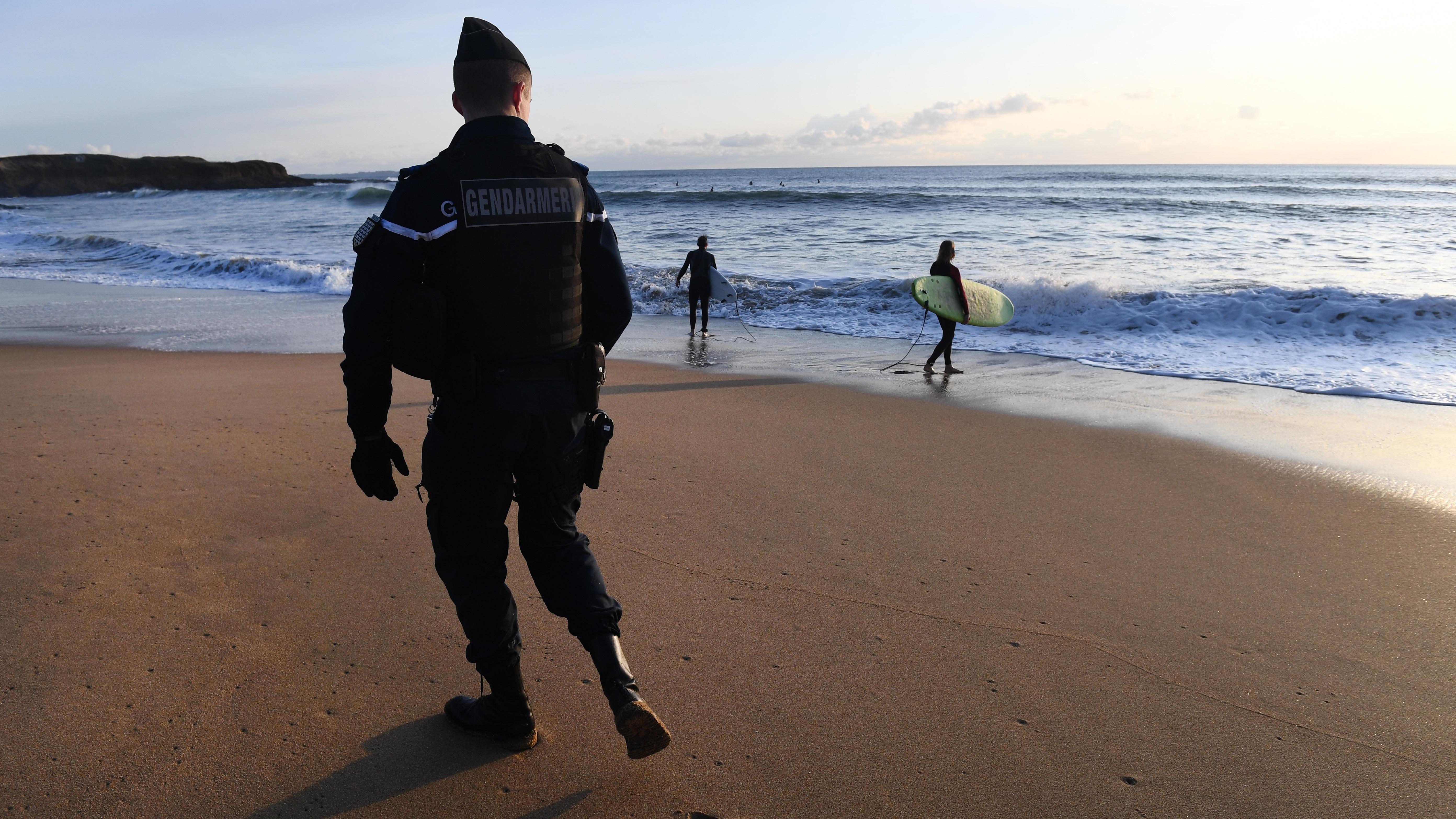 La cocaína hallada en las playas de la costa atlántica francesa es de una pureza del 83% y por lo tanto altamente peligrosa.