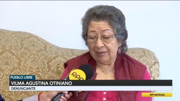 Vilma Agustina Otiniano, paciente que requiere operación.