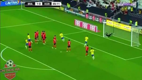 Así fue el gol Philippe Coutinho ante Corea del Sur.