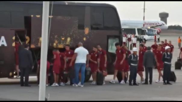 River Plate ya está en Lima.