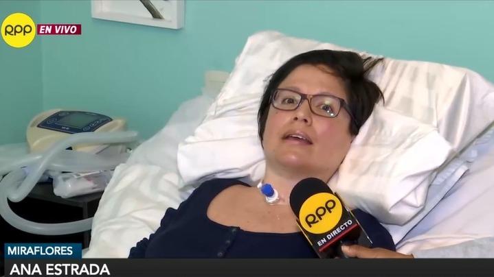 Ana Estrada  busca que el Estado peruano le reconozca su derecho a la muerte en condiciones dignas.