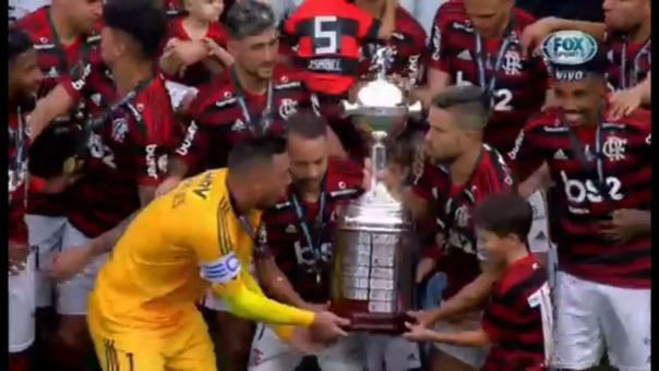Flamengo venció 2-1 River Plate en la final de la Copa Libertadores