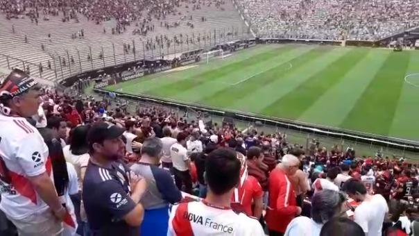 Así luce el estadio Monumental a poco de la final de la Copa Libertadores
