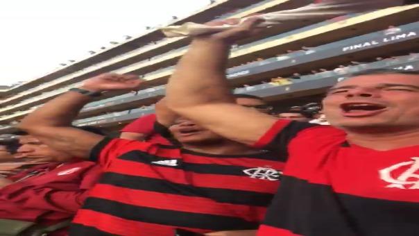 Así fue la celebración de los hinchas de Flamengo tras ganar la Copa Libertadores.