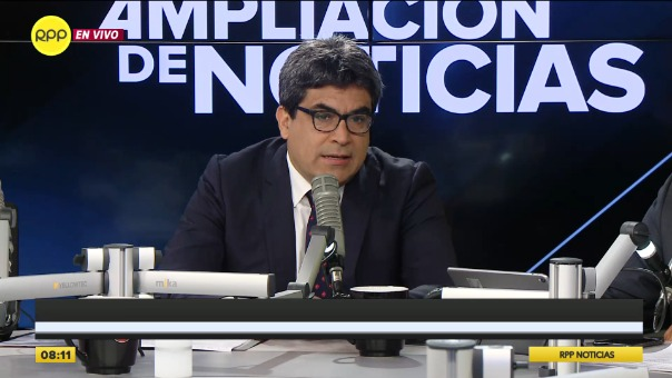 Martín Benavides Abanto, superintendente de la Sunedu.