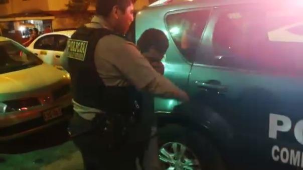 El conductor del camión fue trasladado a la Comisaría de San Luis.