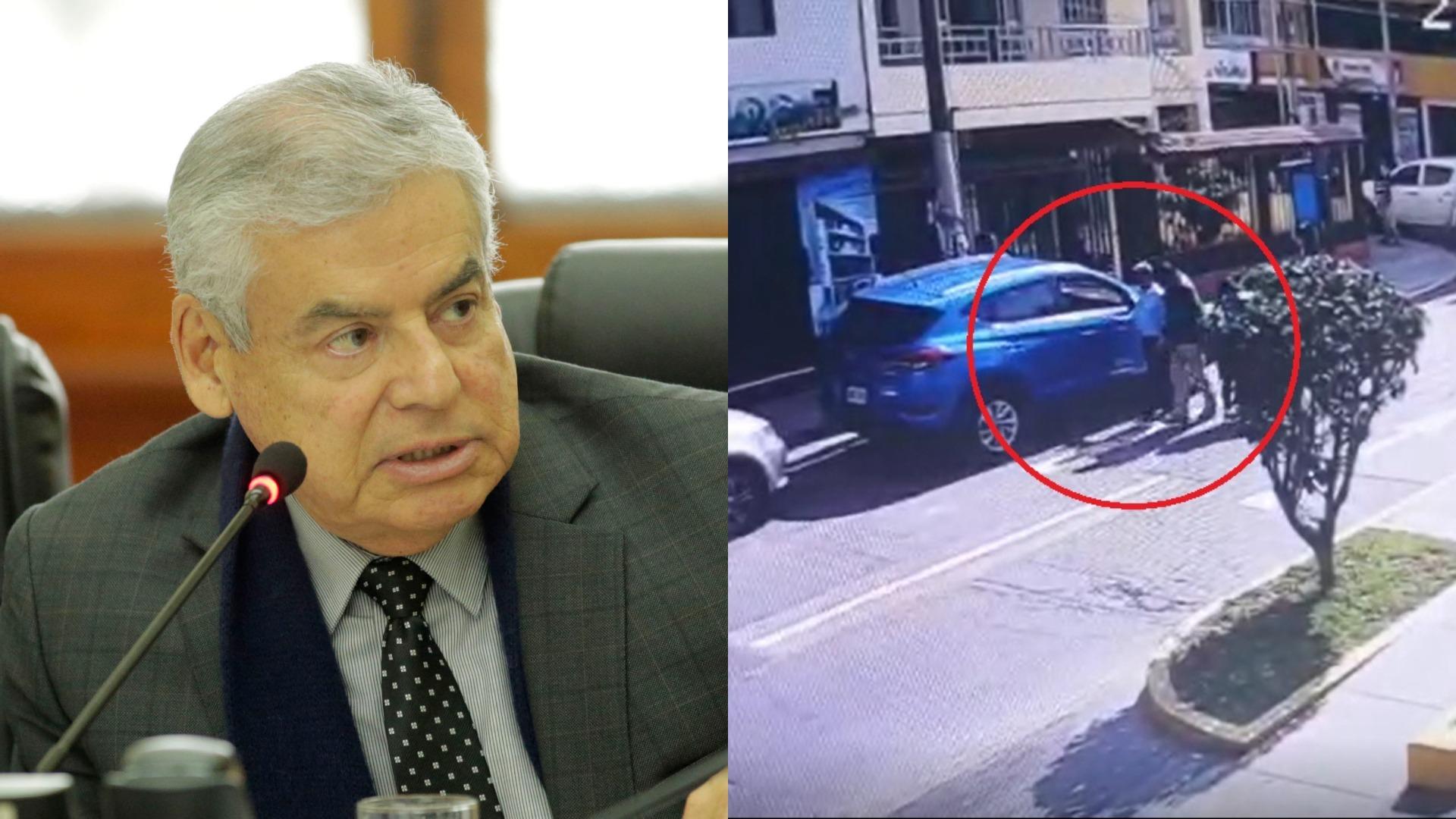 Los agentes de la DIVIAC detuvieron este martes a César Villanueva, exjefe del gabinete ministerial de Martín Vizcarra, en un restaurante de Los Olivos.