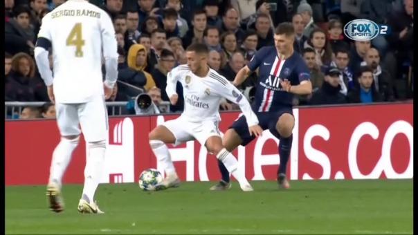 Eden Hazard salió lesionado en el minuto 69 y preocupa a Zidane