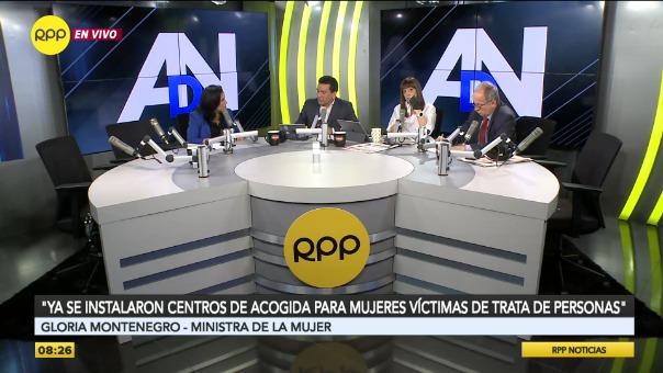 La Ministra de la Mujer, Gloria Montenegro, habla sobre la decisión del TC de declarar fundado el hábeas corpus de Keiko Fujimori.