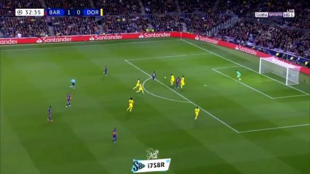 Así fue el gol de Lionel Messi.