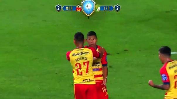 Así fue el segundo gol de Edison Flores.