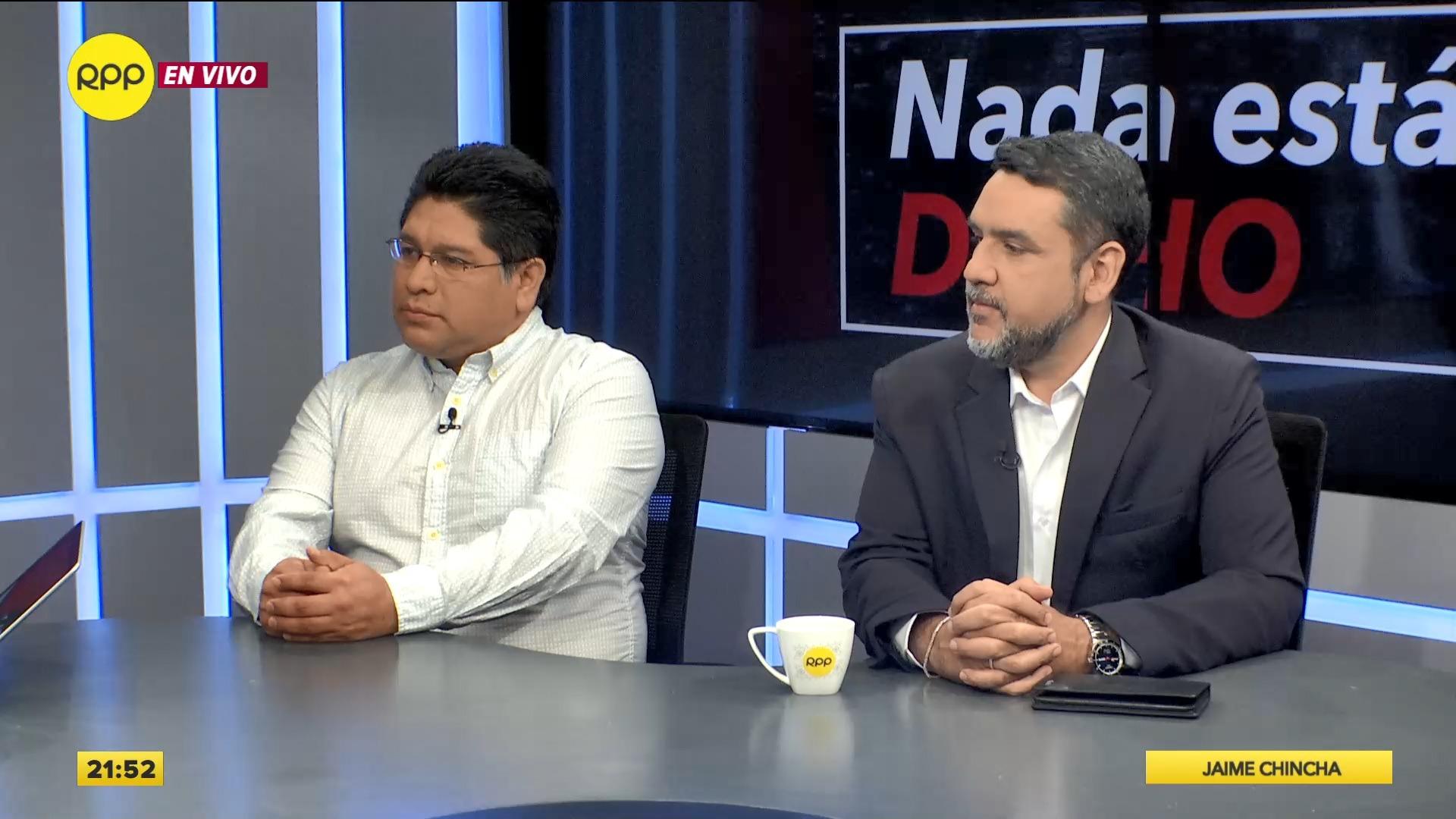 Rennan Espinoza postula con el número 1 por Somos Perú y Javier Altamirano con el número 3 por el Partido Popular Cristiano.