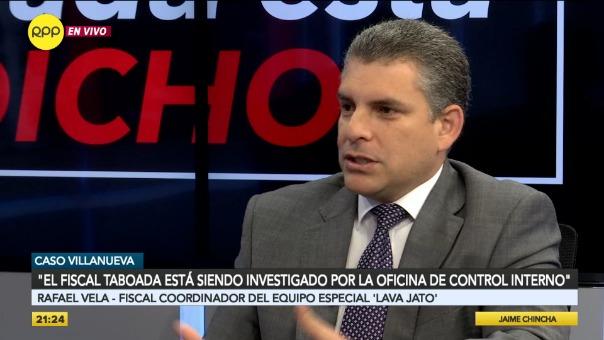 Rafael Vela en el programa Nada Está Dicho en RPP.