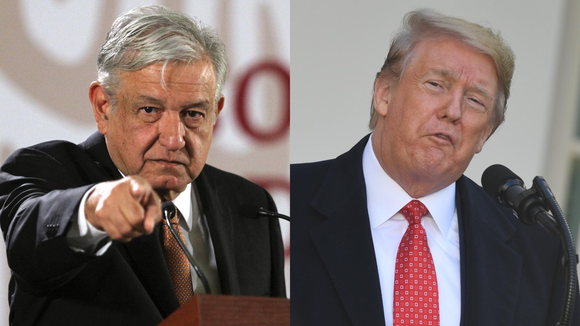 Andrés Manuel López Obrador señaló que en el caso EE.UU  tomara una decisión que afecte la soberanía mexicana, entonces actuará en el marco de las leyes internacionales.