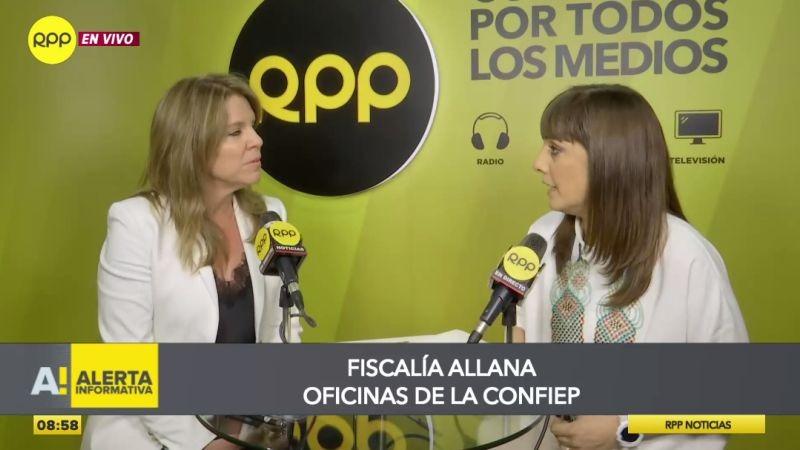 Cayetana Aljovín estuvo esta mañana en Ampliación de Noticias.