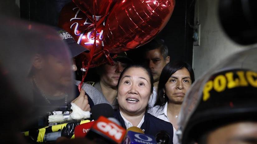 Fujimori Higuchi aseguró que se tomará un tiempo para pasarlo con su familia.