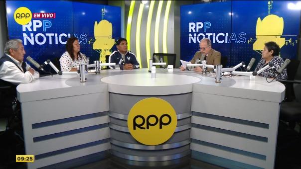 El programa Enfoque de los Sábados de RPP reunió a cuatro dirigentes de los mercados más populares de Lima.