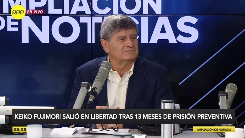 Raúl Diez Canseco estuvo esta mañana en Ampliación de Noticias.