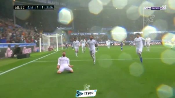 Así fue el gol de Dani Carvajal.