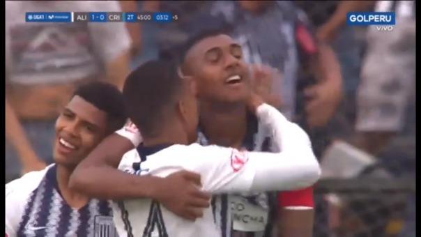 Así fue el gol de Aldair Fuentes.