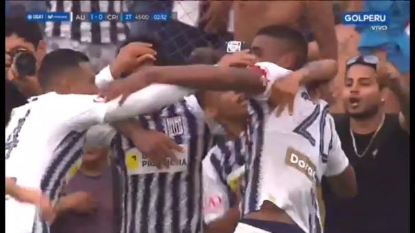 Alianza Lima venció 1-0 a Sporting Cristal por la semifinal del play-off de la Liga 1