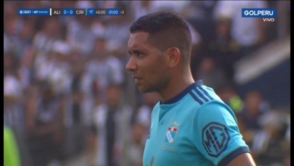 Así fue el gran remate de Cristian Palacios.