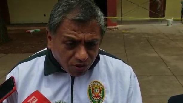 Coronel PNP Manuel Mar Pérez, jefe de la Región Policial del Cusco.