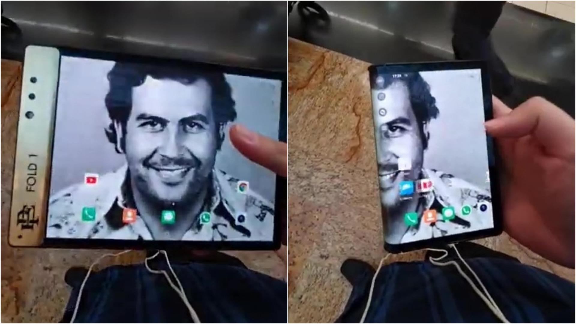 Así funciona este FlexPai con la marca del hermano de Pablo Escobar.