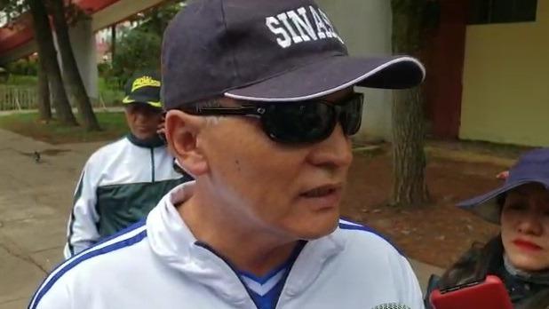 Jefe de la VII Macro Región Policial Cusco–Apurímac, general PNP Héctor Loayza.