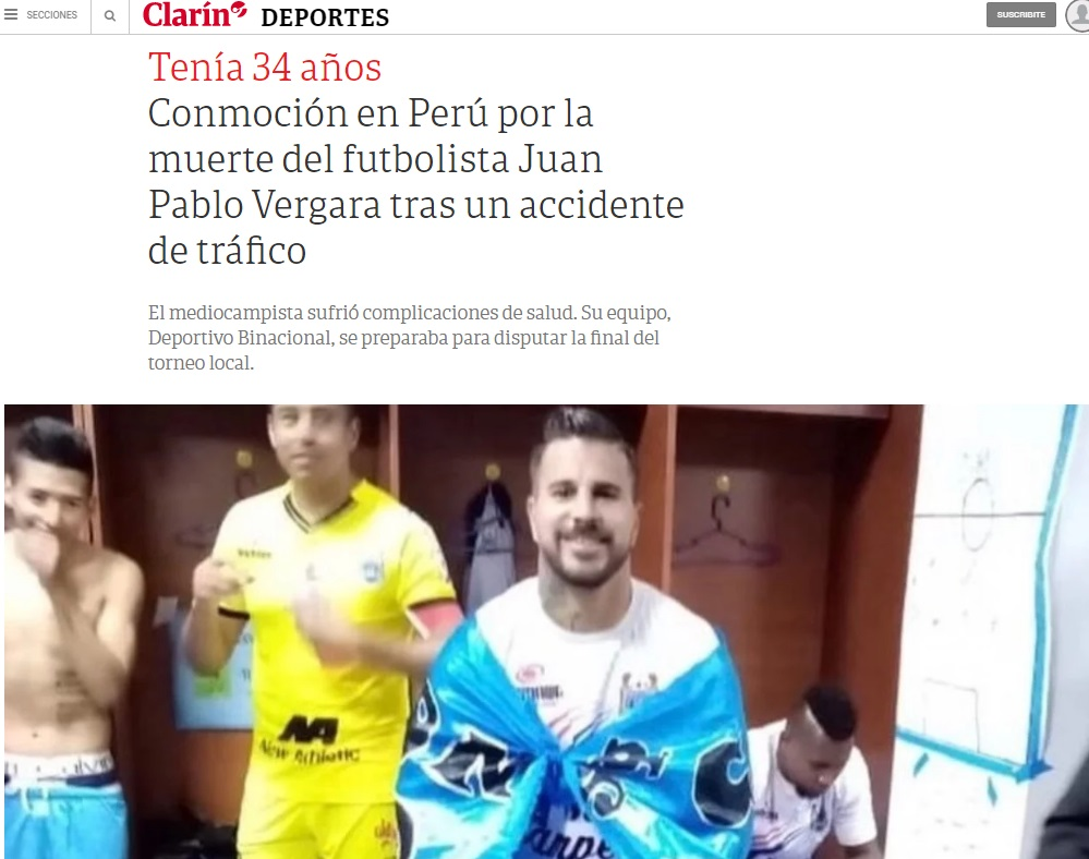 Clarín de Argentina.