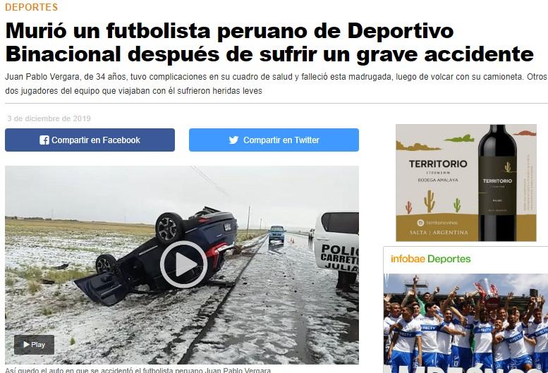 Infobae de Argentina.