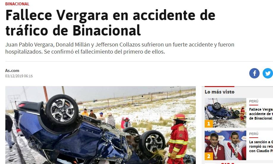 AS de España.