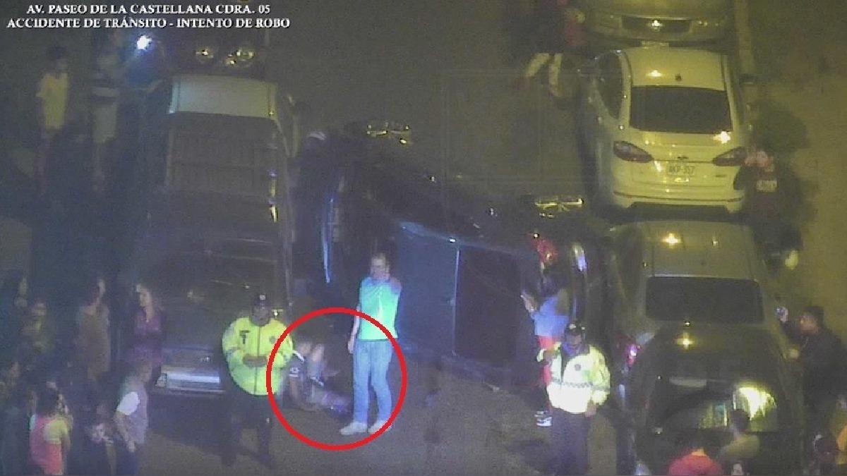 El accidente se registró en la cuadra 5 de Paseo de La Castellana.