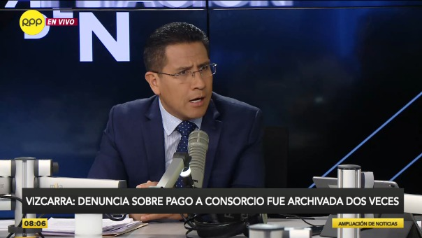 Amado Enco, procurador anticorrupción.