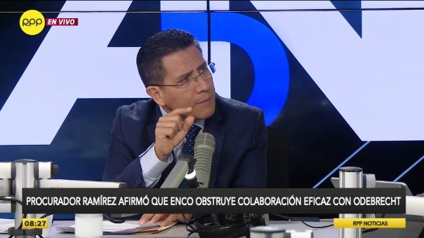 Procurador anticorrupción Amado Enco.